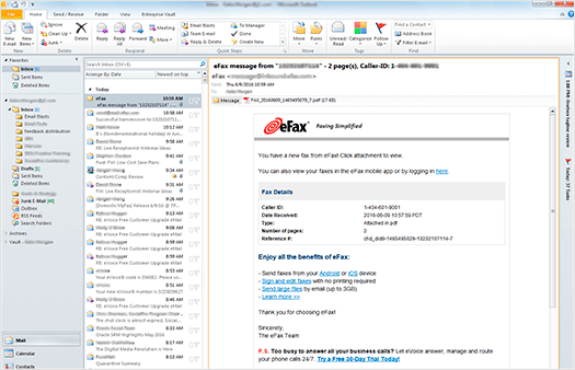 How to Receive with Email | eFax