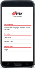 eFax® Mobile Fax App