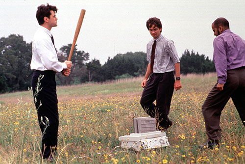 Office Space Fax Machine Printer Scene